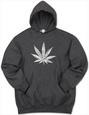 Hoodie: Marijuana Leaf Hættetrøje
