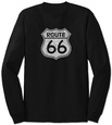 Long Sleeve: Route 66 Langærmet T-shirt