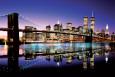 Brooklyn-broen - farvet Plakat