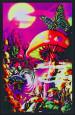 Magic Valley Pôster fluorescente para luz negra