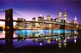 Night Cityscapes (Color Photography) Posters
