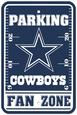 NFL Dallas Cowboys Parking Sign Cartel de pared
