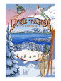 Lake Tahoe Posters