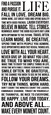 Words & Quotes (Decorative Art) Posters