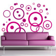 Purple Abstract (Decorative Art) Posters