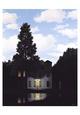 Lysets magt Samlertryk af Rene Magritte