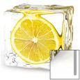 Iced Lemon Kunst på glas