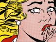 Crying Girl, c.1963 Sanatsal Reprodüksiyon ilâ Roy Lichtenstein