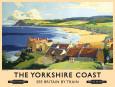 Yorkshire Coast Blikskilt
