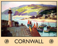 Cornwall Blikskilt