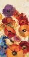 Joyful Garden Panel III Kunsttryk af Silvia Vassileva
