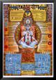 Yoga Lamina Framed Poster