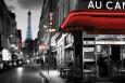 Gade i Paris Plakat