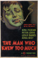 hombre que saba demasiado, El|Man Who Knew Too Much, The Posters