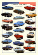 Cars American Cars of Fifties Poster