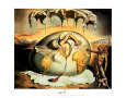 Geopoliticus Child Art Print by Salvador Dalí