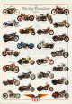 Harley Davidson Legend Plakat