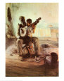 The Banjo Lesson Art Print by Henry Ossawa Tanner