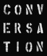 Conversation Lærredstryk på blindramme af Tiffany Dow
