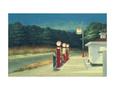 Benzin, ca. 1940 Kunsttryk af Edward Hopper