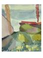 Abstrakte landskaber (kunst) Posters