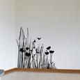 Corner of the Meadow-Medium-Black Lepicí obraz na stěnu