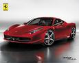 Ferrari 458 Italia Miniplakat