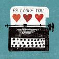 Lunefuld kommunikation (dekorativ kunst) Posters