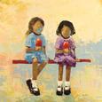 Cherry Dip No. 4 Kunsttryk af Rebecca Kinkead
