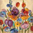 Garden Hues I Kunsttryk af Silvia Vassileva