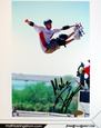 Sportsfotografi med autograf Posters