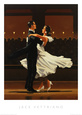 Ballroom Dancers (Decorative Art) Posters