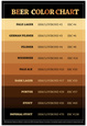 Beer Brewers Reference Chart Print Poster Póster