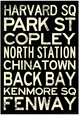 Undergrundsstationer Posters