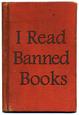 I Read Banned Books Poster Print plakat
