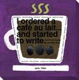 Cafe au Lait Lærredstryk på blindramme af KOCO