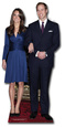 Prince William and Kate Lifesize Standup Postacie z kartonu