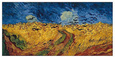 Buğday Tarlasında Kargalar (van Gogh) Posters