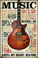 Guitares / Luths Posters