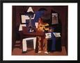 Los tres músicos (Picasso) Posters