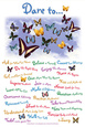 Butterflies (Decorative Art) Poster