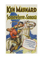 Somewhere in Sonora (1927) Poster