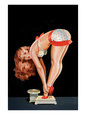 Pin-Up Girls (Vintage Art) Posters