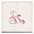 Pink Tricycle Umělecká reprodukce od Lauren Hamilton