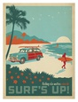 Plages ctires - art Posters