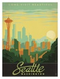 Space Needle Posters