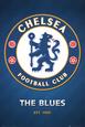 Chelsea FC Club Crest Plakat