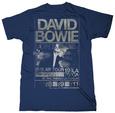 David Bowie - Isolar Tour 1976 (Slim Fit) Camiseta