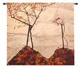 Autumn Sun and Trees Tapiz
