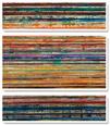 Shattered Earth Conjunto de lienzos por Hilario Gutierrez
